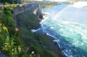 Rainbow In The Falls by Liarbriarpantsonfiar