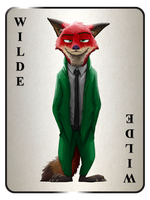 The Wilde Card by TheWyvernsWeaver