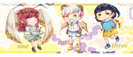 [reduced prices] smol auction set #2 [open!] by yuzunoru