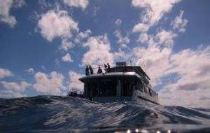 Aristocat Dive Boat Great Barrier Reef by delta9Nick