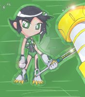Mecha Buttercup-PPGZ Version by Sweetmellow