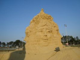 Sand art in burgas 9 by tonev