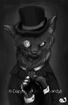 A Gentlecat by GiMoody