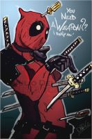 Deadpool - Julio Del Rio by juliodelrio