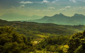 Bandung mountains by philipbrunner