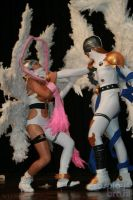 Angemon and Angewomon by cosplaybrasil