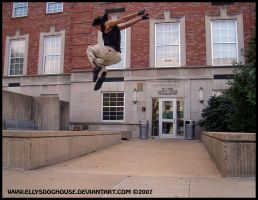 Cop Shop Jump - Epic by ellysdoghouse