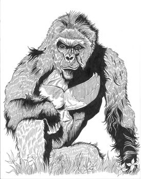 Harambe the Great by Yarnelson