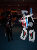 Wheeljack sharing the love by Scream01