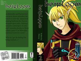 Heirloom Cover - Book 2 by Kuthinks