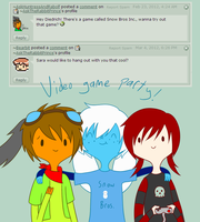 Video Game Party by AskTheRabbitPrince