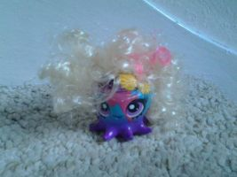 Lady Gaga style Octopus LPS by ButchxButtercup1996