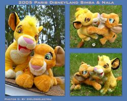 2005 Paris Disney Land Simba And Nala by DoloAndElectrik