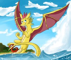 Practice - Dragons and BGs by ChilaTheDragon