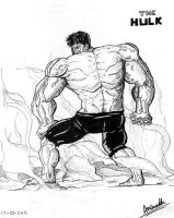 The HULK by toonager
