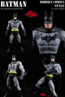 Custom Batman (Modern) DC Universe Action Figure by MintConditionStudios