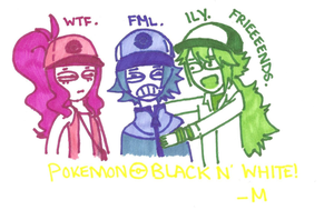 Pokemon: Black N' White by scanoli