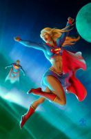 Supergirl Sketchy by 133art