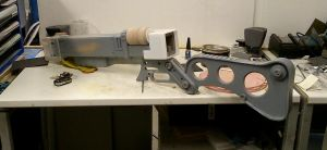 Fallout 3 AER9 Laser Rifle WIP 3 by Thomasotom