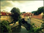 Prague, Vltava River by TheAppleScientist