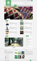 Bionary - Web Template by anhgreen123