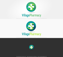VillagePharmacy Logo by DianaGyms