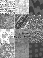 Fabric Texure Brushes 3 by candymgunn