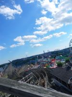 Beautiful Amusement Park Day by iarecharlina