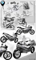 bmw motorcycle by ALIDESING