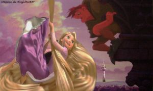 Rapunzel Stopping By by x12Rapunzelx