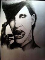 Marilyn Manson: Tainted by TemptedSacrifice