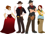 Cowpokes Heights by oCrystal