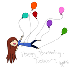 Joshua Birthday Card by papercranedoctor
