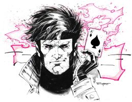 The Ragin' Cajun...Gambit! by aethibert