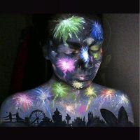 Fireworks New Year make up by lgoresfx