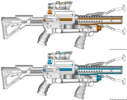 NFA Portal Rifle by HaX0r332