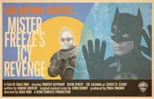 Mr. Freeze's Icy Revenge Brad Bird by Hartter