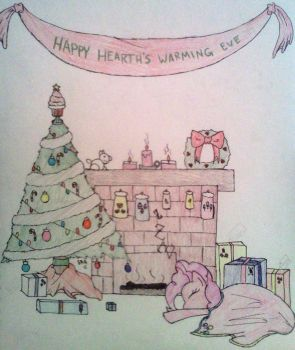 Happy Hearth's Warming Eve~! by StormeChaser