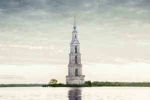 Submerged tower by dSavin