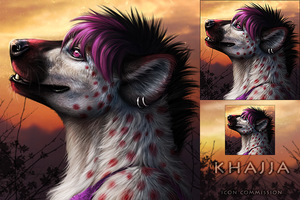 Khajja icon Commission by DarkIceWolf