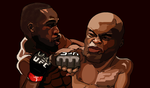 Anderson Silva vs Jon Jones by IsraelFelix