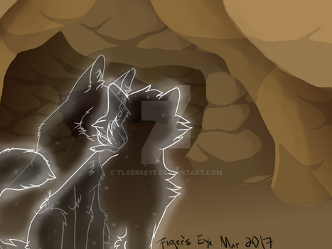 Bluestar and Yellowfang: Warrior Cats Concept 2 by Tigerpool