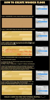 How To Create WOODEN FLOOR by Kaoyux