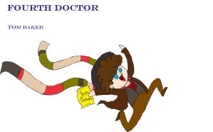 Fourth Doctor by KitHasArt