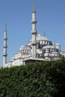 Istanbul - View on Sultan Ahmet Camii II by puppeteerHH