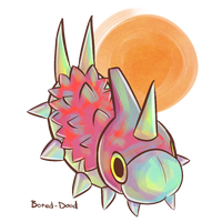 PokeCollab: Wurmple by Bored-dood