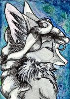 ACEO - Tarnished Silver by Quoosa