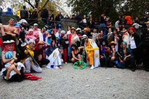 One Piece _Mega Group a Lucca 2012 by Cosmy-Milord