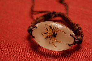 Spider bracelet by Arie-Vampiress