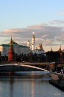 The Kremlin by Adisson